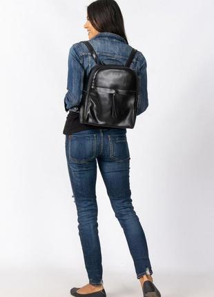 Кожаный рюкзак -сумка  alex rai,оригинал!