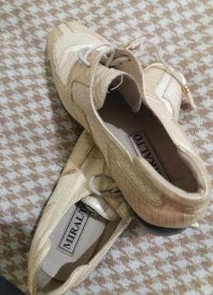 Свадебные, выпускные, нарядные,  оригинальные классические туфли miralto