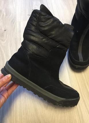 Кожаные сапоги ботинки lands end
