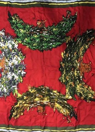 Шелковый шикарный платок италия