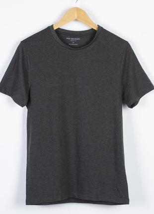 Базовая серая футболка, однотонная футболка оверсайз, футболка под пиджак