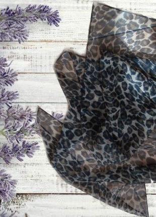 🏵️🏵️легкий воздушный шарф в леопардовый принт 🏵️🏵️🏵️