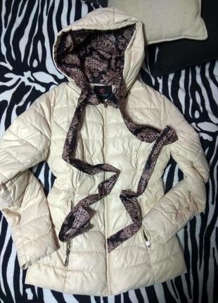 Курточка куртка пуховик на синтепоне