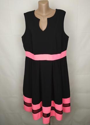 Платье новое стильное плотное романтичное большого размера yours uk 22/50/4xl