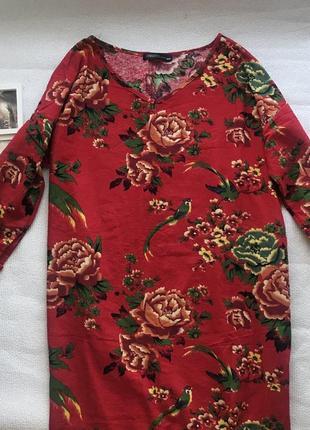 🌿большой выбор платьев👗длинное платье в цветочный принт