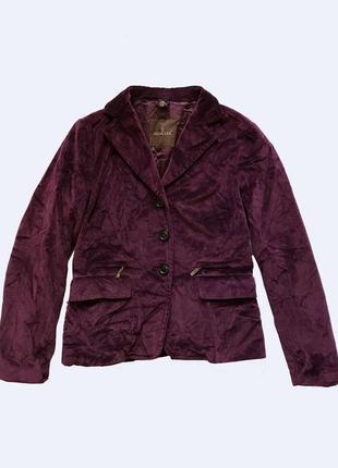 Moncler велюровый жакет пиджак