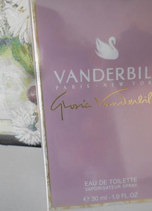 #gloria vanderbilt#made in france #новая запечатанная  туалетная вода #