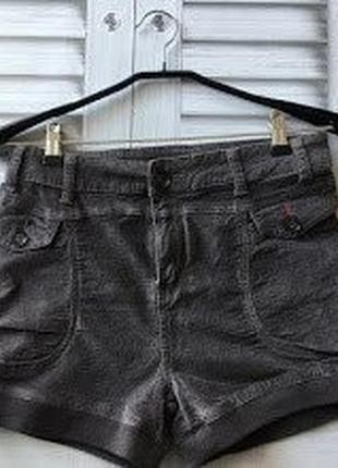 Велюровые шорты, zuiki (италия), размер s=42-44