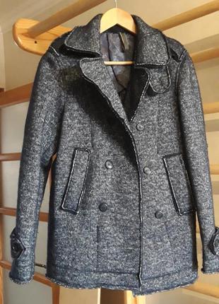Пальто для подростка мужское размер s