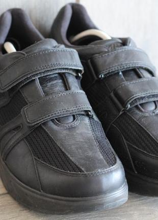 Кроссовки на круглой подошве мвт натуральная кожа