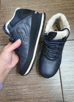 Зимние кожаные кроссовки/ботинки new balance 39/25,53 фото