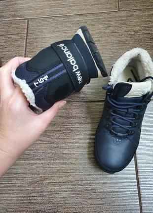 Зимние кожаные кроссовки/ботинки new balance 39/25,54 фото