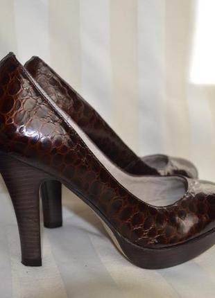 Туфли кожаные 37.5. 38 размер studio tmls италия,бразилия