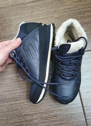 Зимние кожаные кроссовки/ботинки new balance 39/25,56 фото