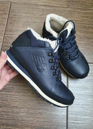 Зимние кожаные кроссовки/ботинки new balance 39/25,57 фото