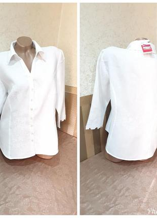 Блузка с вышивкой. per una.