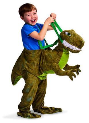 Костюм всадника динозавра, дракона, карнавальный, детский, как новый!