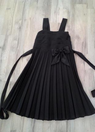 Сарафан школьное платье