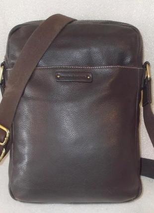 Мужская сумка *marshall bergman* натуральная кожа