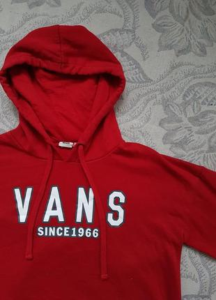 Худи vans s оригинал кофта свитер толстовка свитшот