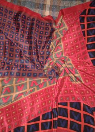 Шелковый эффектный платок marja kurki