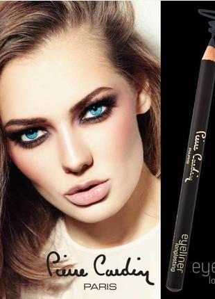 Стойкий карандаш для глаз pierre cardin midnight black /глубокий черный
