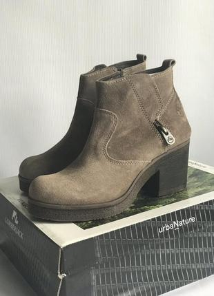 Замшевые ботинки lumberjack (италия) р. 38,39