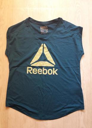 Спортивная мацка футболка топ reebook m