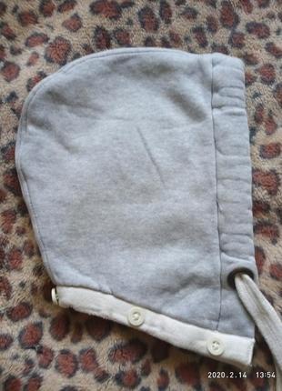 Тёплый капюшон для кофты или куртки