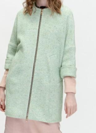 Кардиган- пальто,шерсть, размер 465 фото