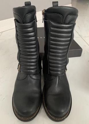 Кожаные ботинки albano италия