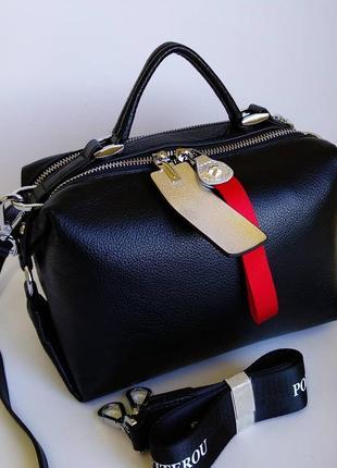 Кожаная сумочка polina& eiterou