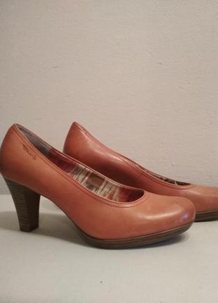 Туфли кожа tamaris