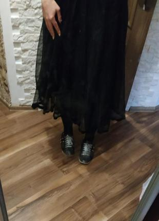 Стильная юбка с евро фатина