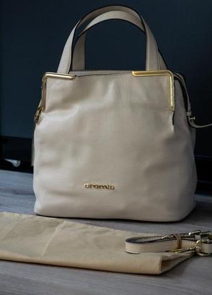 Сумка cromia женская кожаная бренд. сделано в италии. оригинал.