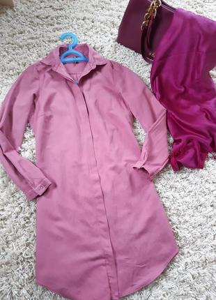 Стильное платье рубашка  ,nikotine турция,  р. 6-8