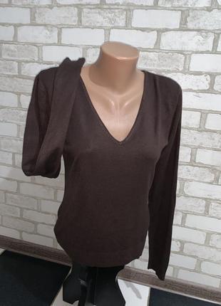 Брендовый пуловер zara  made in cambodia  размер л