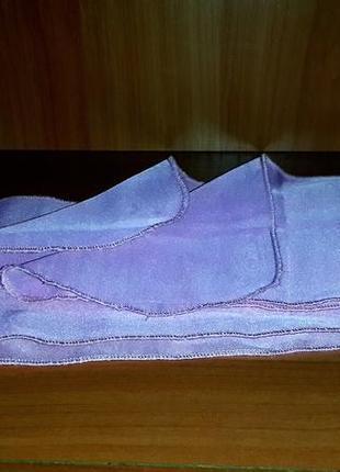 Нежно - розовый шифоновый шарфик