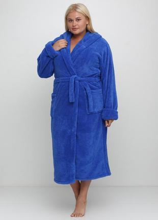 Халаты махровые с капюшоном,размеры 44-54