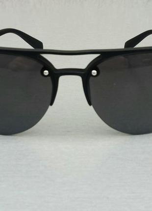 Prada очки капли унисекс солнцезащитные черные