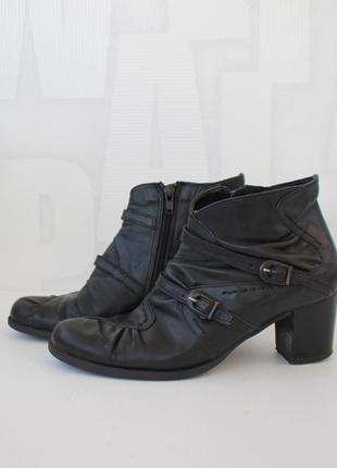 Кожаные ботинки sfratelita calsolarirecnati