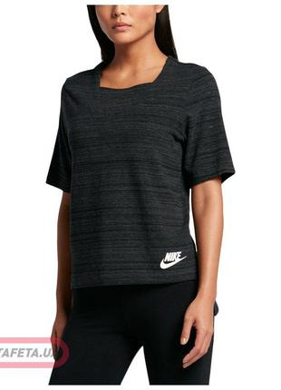 Женская футболка nike  nsw av15 top knt