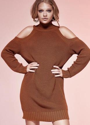 Платье свитер j.d.wool мериносовая шерсть