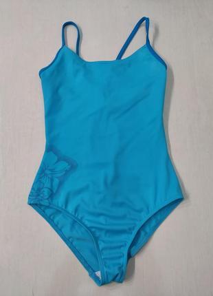Tribord голубой слитный, сдельный купальник