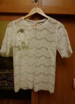 Продам гипюровую блузку iren klairie