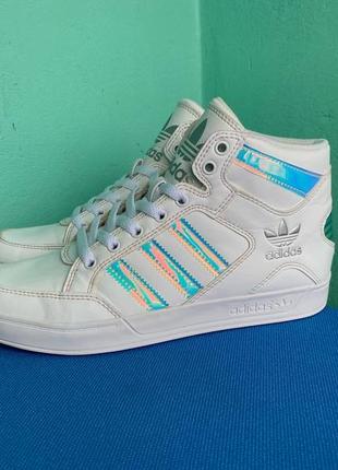Кросівки adidas hard court silver iridescent