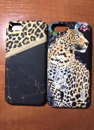 Чехол леопард айфон 7 8