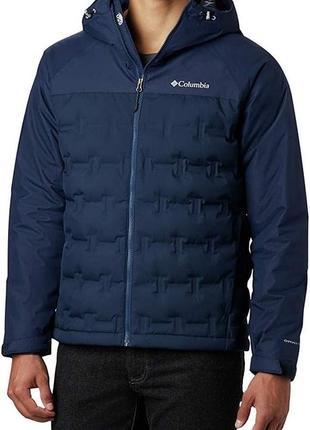 Мужская куртка пуховик columbia grand trek,раз м