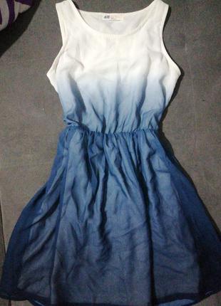 H&m платье на девочку летнее