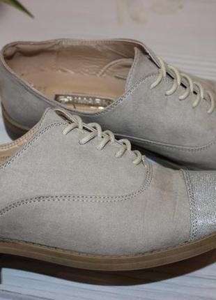 Шикарные туфли ботинки primark 39р